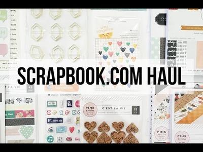 Scrapbook.com Haul | julimakesthings