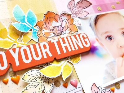 Scrapbooking Process+ Giveaway!! **CLOSED** Custom Made Online Class with Jen Schow