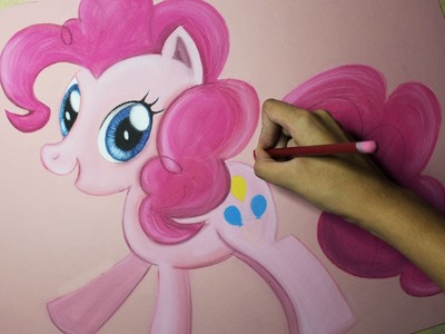 Speed Drawing: Pinkie Pie (MLP) | Diana Díaz