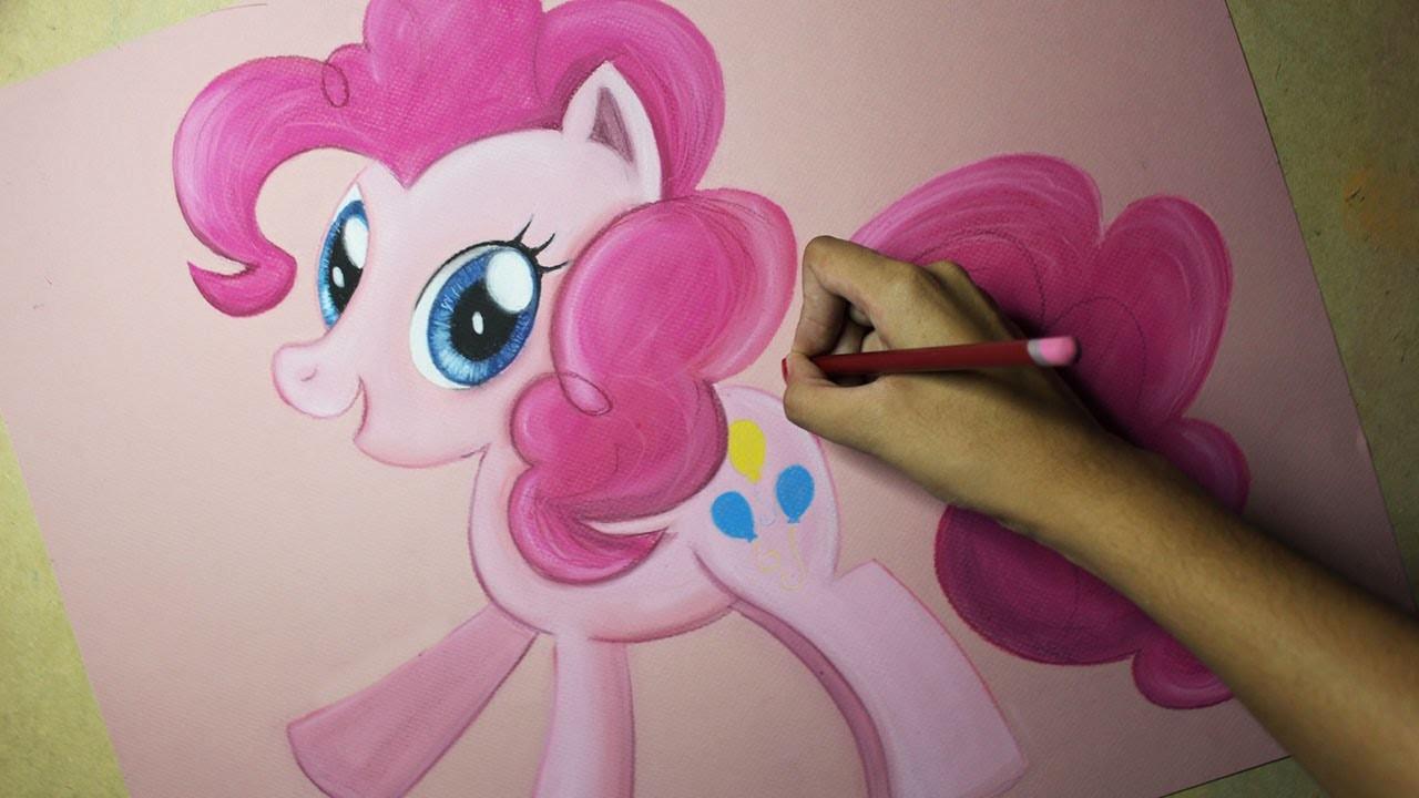 Speed Drawing: Pinkie Pie (MLP) | Diana Díaz