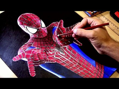 Speed drawing: The Amazing Spider-Man 2