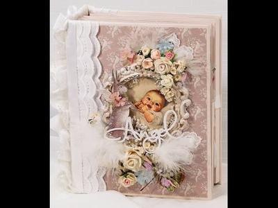Tilda Baby Scrapbook Mini Photo Album