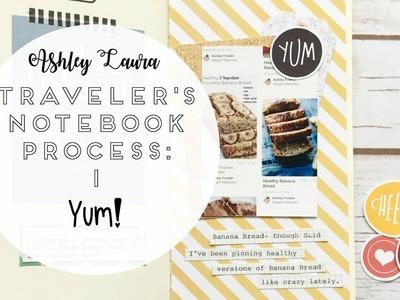 Traveler's Notebook Process: #1 | Ashley Laura