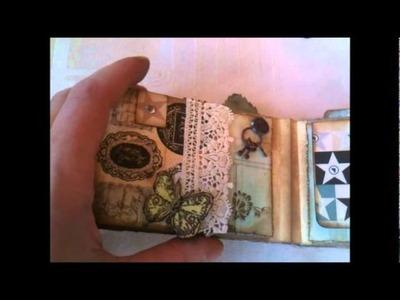 Vintage mini album, TPR - prima printery