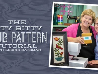 Working with Wool - The Itty Bitty Club Pattern with Jenny and Leonie Bateman
