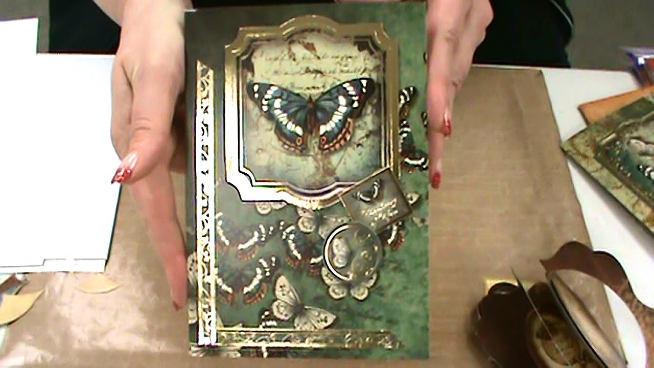 #139 Easy-Peasy Crafting with Stunning HunkyDory Poppy & Butterfly Kits by Scrapbooking Made Simple