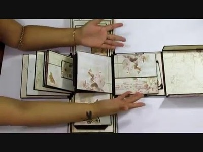 3D Boxed Album with Prima Butterfly
