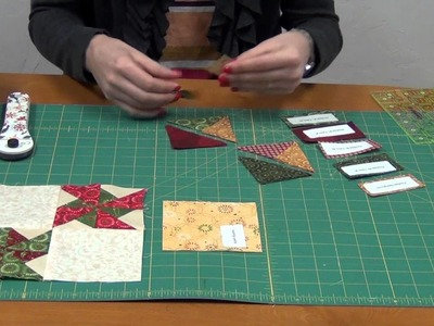 Be Merry Block of the Month 5 Presents and Pinwheels