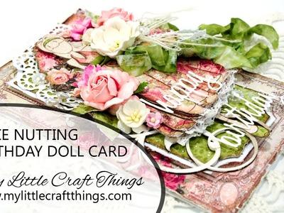 Card Series 120 - Julie Nutting Birthday Doll