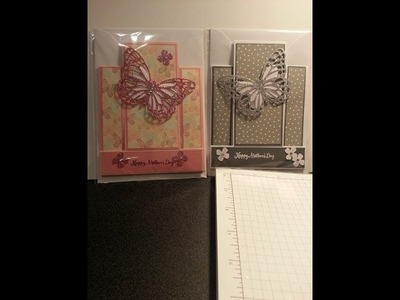 Centre step mothers day card using stampin up products