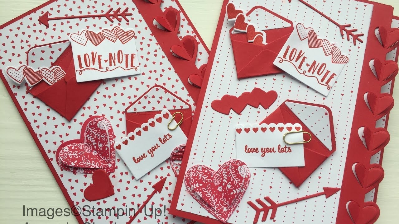 Coffee and a Sealed with love tutorial using Stampin' Up! products