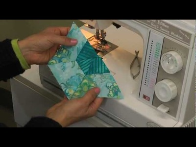 Easy pieced hexagons with the QuiltCut2