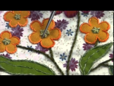 "ENGLISH version - Mystery Quilt 2015 : ""COLMAR"" by La Fée Pirouette - Block 2 video 2.2"