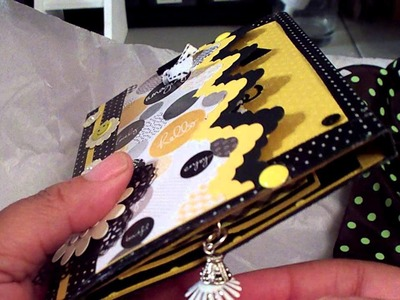 Flip Book and Chunky Charm from Karen at Ink The Edges