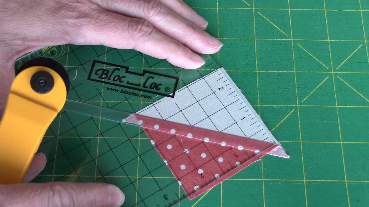 how to make 8 half square triangles
