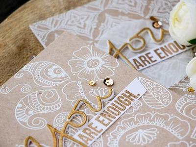 Henna Patterns Background by Yana Smakula