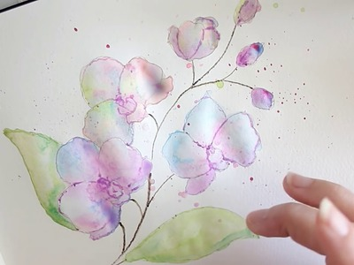 How to draw flowers for beginners - easy version =)