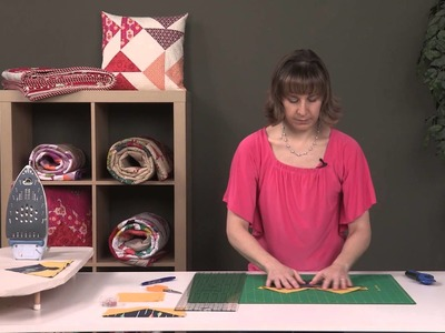 How to Make No Waste Flying Geese Quilt Blocks - 4 at a Time