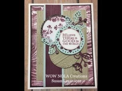 How to stretch the use of your Stampin' Up! Embossing Folders