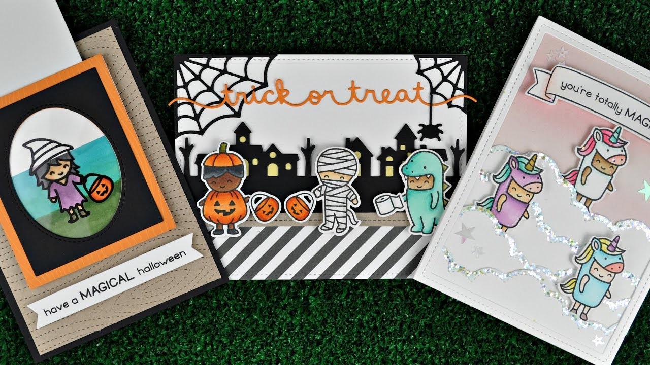 Intro to Costume Party + 3 cards from start to finish