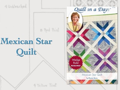 "June 2017 Block Party ""Mexican Star Quilt"""