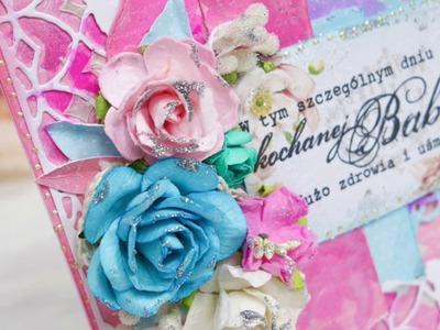 Kartka na Dzień Babci.  Grandmother's Day Card - card making