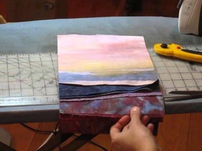 Landscape Quilt - Part3 - Trimming and Final Quilt Top