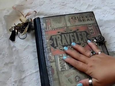 My Design Traveler's Mini Album (Butterbeescraps DT Project)