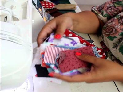 Pantuflas. zapatillas de cama de Patchwork Slippers (Spanish audio - English traslation)