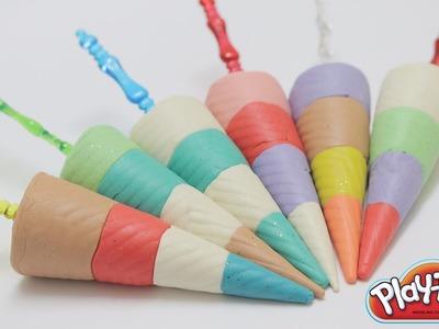 Play Dough Ice Cream Umbrella Learn Colours Play Doh Ice Cream Maker