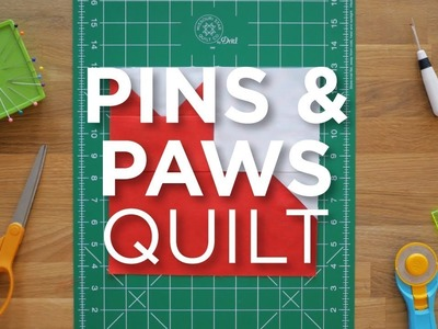 Quilt Snips Mini Tutorial - Pins and Paws