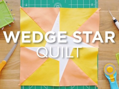 Quilt Snips Mini Tutorial - The Wedge Star