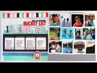 Scrap Your Stash with Nancy Damiano: Summer Bucket List (Two Peas in a Bucket)