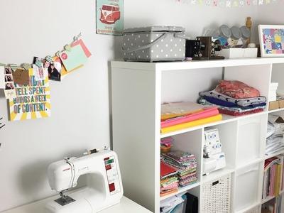 SewHayleyJane Sewing Room Tour