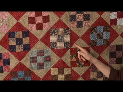Simple Designs with Nine Patches     National Quilters Circle