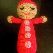 Sleepy Doll - crocheted