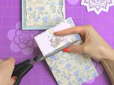 Trimcraft First Edition It's a Boy Card Making Tutorial