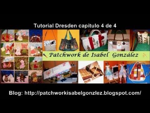 Tutorial Dresden patchwork 4 de 4