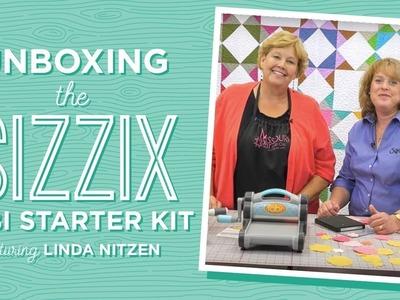 Unboxing the Sizzix Fabi Starter Kit with Jenny Doan and Linda Nitzen