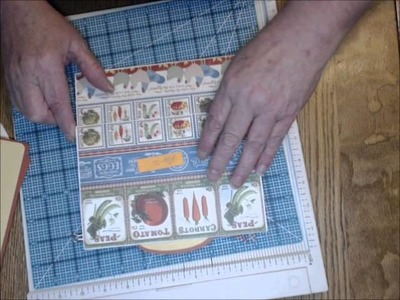 XL Recipe Album tutorial by Susan Chamberlin for DT Brenda Crouch recipe album