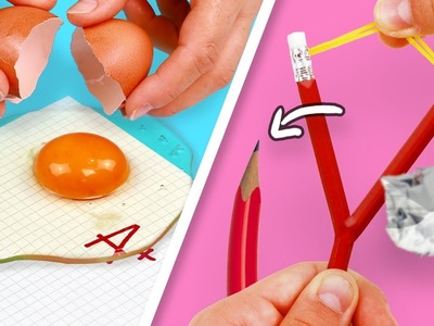 10 WEIRD DIYs for BACK TO SCHOOL you need to try!