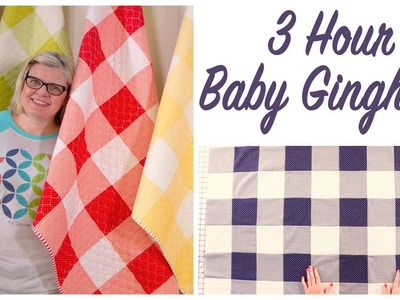 3 Hour Baby Gingham - FREE PATTERN
