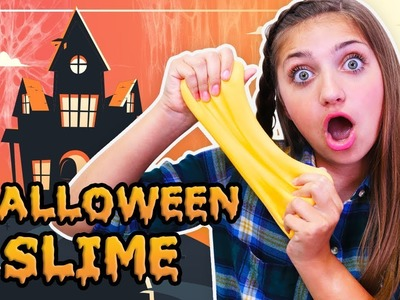 4 DIY HALLOWEEN SLIME RECIPES (+ 1 GIANT Slime Ball) with Slime Expert Rylan