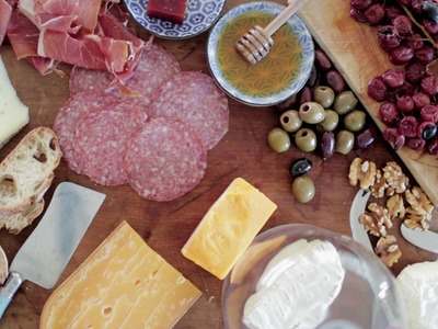 Anatomy of a Cheese Board: Claire Thomas of The Kitchy Kitchen
