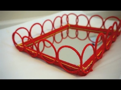 Bangles Tray For Decoration.Best Out of waste