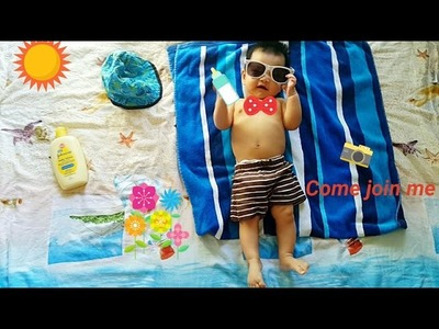 Creative baby pictures you can take at home with your cellphone