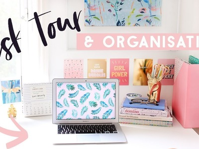 Desk Tour and Essentials | How I Keep my Desk Organised