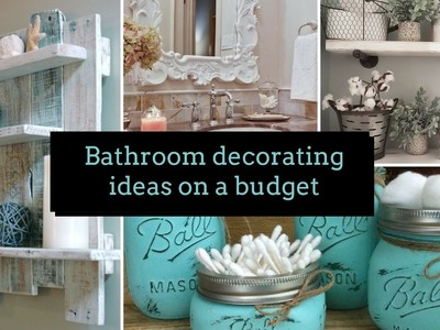???? DIY Bathroom decorating ideas on a budget ????| Home decor & Interior design | Flamingo Mango