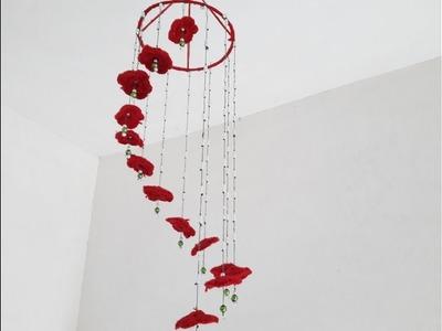 DIY HOW TO MAKE Wall Hanging Woolen room decoration ART.CREATIVITY