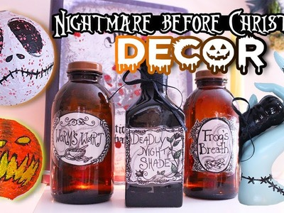 DIY Nightmare Before Christmas Inspired DECOR ???? STYLOWEEN